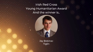 Jay Bobinac - Red Cross Award Winner