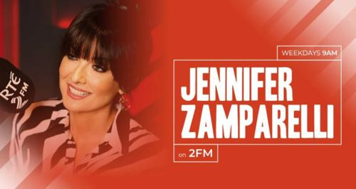 Jay on 2FM with Jennifer Zamparelli