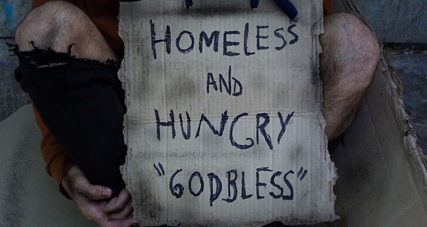 Homeless cafe